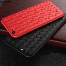 For One Plus 5T Weave Cases For One Plus 5T OnePlus 5T Cover Cute Silicone TPU Cases for iPhone 5 5S SE X 6 6S 7 8 Plus Case cheap Slefinslef Fitted Case Geometric Matte Plain Dirt-resistant Anti-knock 4 7inch 5 5inch 5 8inch Weave Grid Silicone Case