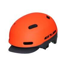 Alta qualidade gub ciclismo cidade bicicleta urbana helment dobrável capacete da bicicleta bmx patinação fixa tampa segura capacetes integralmente moldados