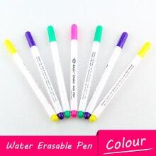 3 шт. стирающиеся ручки для воды 7 цветов Швейные аксессуары маркер фломастеры рукоделие инструменты для дома крестиком