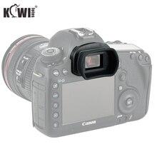 Yumuşak silikon kamera vizör mercek vizör Canon EOS 5DM4 5DM3 5DS 5DSR 7DM2 7D EOS 1DX Mark II 1DX geçer Canon Eg