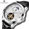 Мужские наручные часы PAGANI  роскошные механические Автоматические часы класса люкс  Tourbillon moon phase  2019
