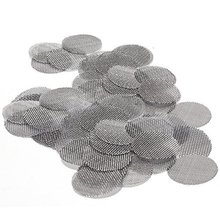 100packs of 5 screens Steel Silver Tobacco Pipe Screens(3/4)  For Smoking Promotion