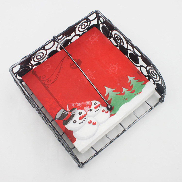 [] New Style Listed Color Printed Napkin Creative Tissue Kleenex