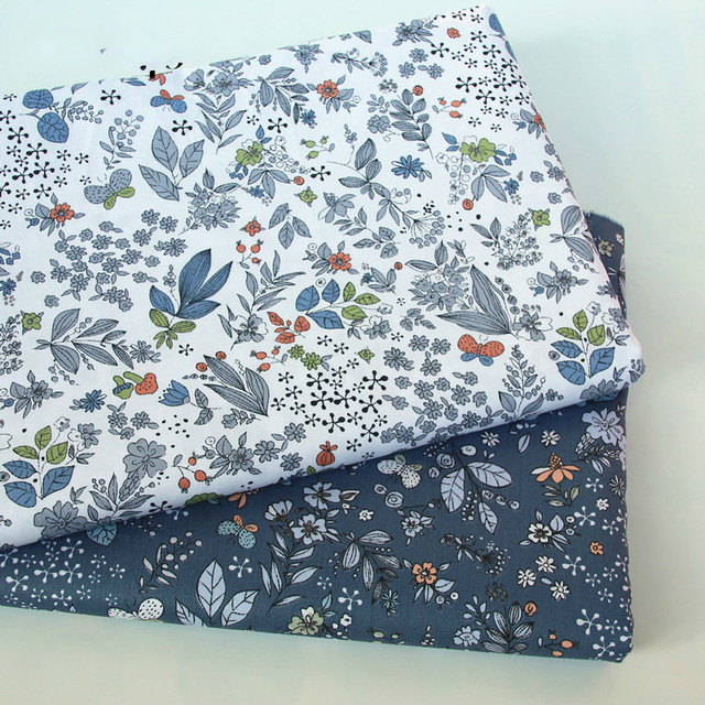 buulqo Printed Kids Cotton fabric baby quilting cotton twill fabric by meter DIY sewing craft cotton material 1