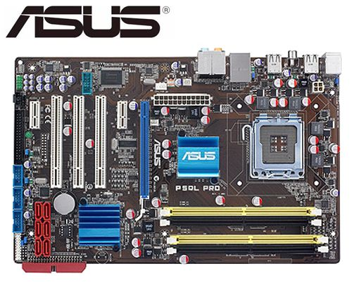 original disk asus p5ql pro - ASUS P5QL PRO original mainbardDDR2 LGA 775 SATA II 16GB P43 used Desktop motherborad sales boards