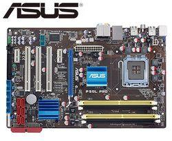 Płyta główna do komputera stacjonarnego ASUS P5QL PRO oryginalna mainbard DDR2 dla intel LGA 775 SATA II 16GB P43 używane już dziś  deski w Płyty główne od Komputer i biuro na