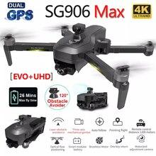 SG906 ماكس برو PRO2 الطائرة بدون طيار 4K HD الميكانيكية كاميرا ذات محورين 5G واي فاي نظام تحديد المواقع يدعم درون الطائرات بدون طيار كوادكوبتر 1.2 كجم ...