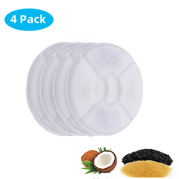 Replaced Activated Carbon Filter For Cat Water Drinking Fountain Replacement Filters Flower For Pet Dog Round Fountain Dispenser 9