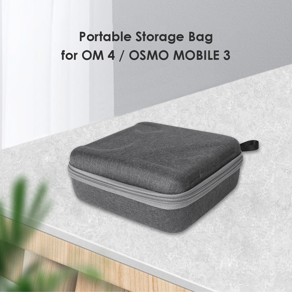 Handheld Stabilizer Carrying Case Gimbal Storage Bag Portable Case Electronic Equipment Accessory for DJI OM 4/OSMO MOBILE 3