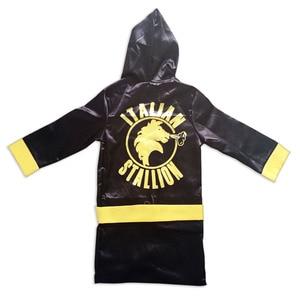 Костюм для бокса для мальчиков, Детский костюм в стиле «Рокки-Бальбоа», «Аполлон», костюм для косплея, с изображением американского флага, к...