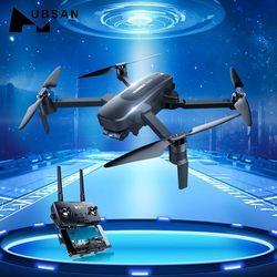 Hubsan quadcopter zino pro gps 5g wifi 4 km fpv com 4 k uhd câmera 3-axis cardan esfera panoramas rc zangão quadcopter rt