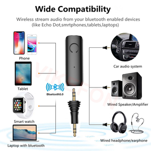 Image 5 - HOT Handsfree Call & APTX LL Bluetooth 5.0 Audio Receiver RCA 3.5mm AUX Jack Stereo Wireless Adapter for Car Speaker Headphones