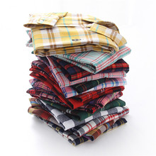Cotton Women Shirt 2019 Fashion Plaid Long Sleeve Turn-down Collar Autumn Blouse Plus Size Slim Casual Office Ladies Tops Blusas cotton long shirt fashion plaid turn down collar full sleeve office lady autumn women blouse plus size casual blusas student top