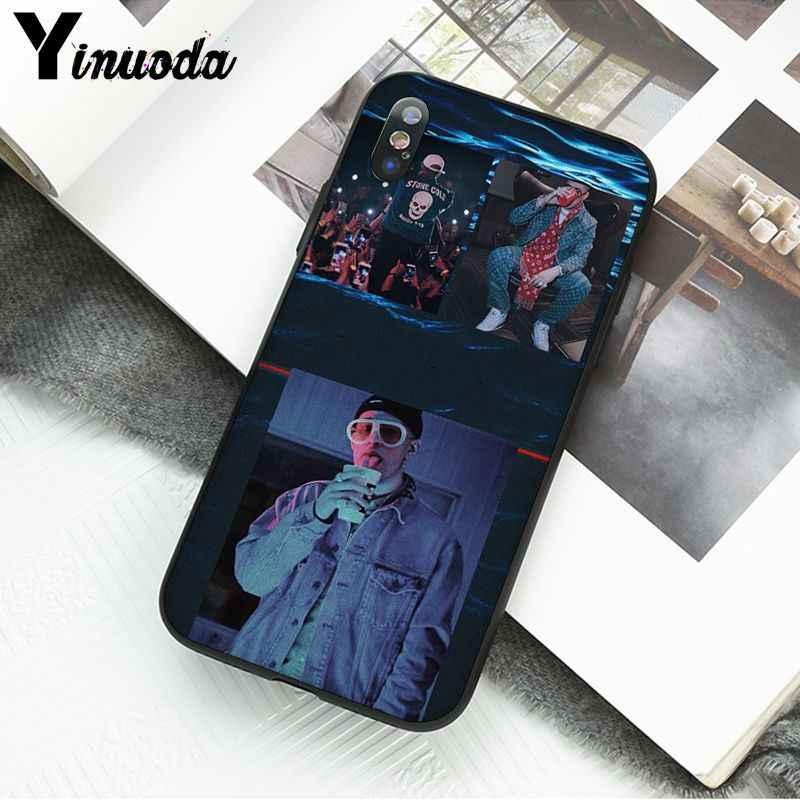 Yinuoda Male Bunny Morbido nero Cassa Del Telefono per il iPhone 11 11Pro X XS MAX XR 8 7 6 6S più di 5 5S SE