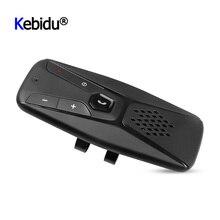 Altavoz inalámbrico con Bluetooth 5,0 y micrófono para coche, Kit de altavoz Universal manos libres con visera solar y reproductor MP3