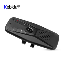 אוניברסלי רמקול דיבורית Bluetooth לרכב רמקול אלחוטי אוטומטי מגן שמש Bluetooth 5.0 MP3 נגן עם מיקרופון עבור טלפון
