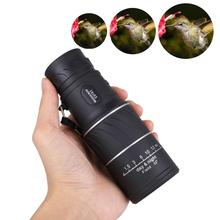 Dual Focus Telescope 16x52 High Power HD Optical Hunting Telescope Low-light-level Night Vision Portable High Quality Scope 16x52 telescope monoculars high power children s toys outdoor hunting optical hd twill leather zoom binocular portable