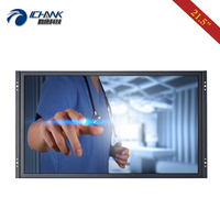 ZK215TC 59D/21.5 inch 1920x1080p 16:9 HDMI USB VGA Embedded Open Frame Driver Free 10 points Capacitive Touch Screen PC Monitor