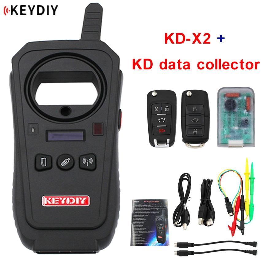 KEYDIY KD-X2 Remote Maker Unlocker и генератор-клон транспондера с 96 бит 48 копия транспондера без маркера + сборщик данных KD