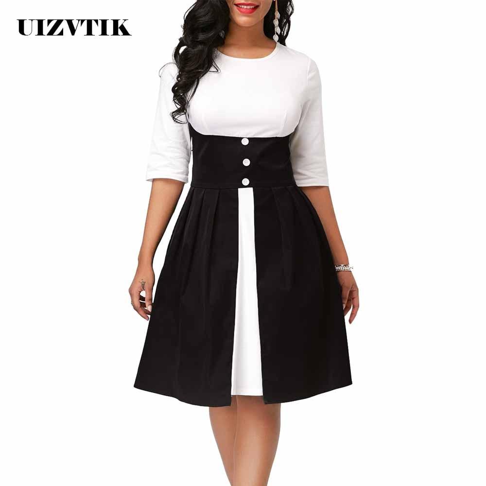 Winter Autumn Dress Women 2019 Casual Plus Size Slim Patchwork Office Dresses Elegant Vintage Sexy Ball Gown Long Party Dress