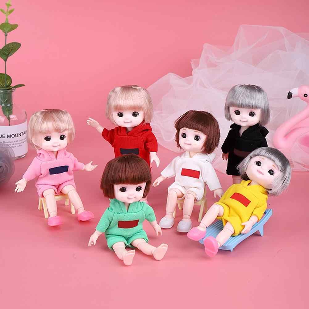 Beweegbare Jointed 16Cm Poppen Speelgoed Mooie Baby Pop Naakt Vrouwen Body Mode Poppen Speelgoed Voor Meisjes Gift Dress Up normale Huid
