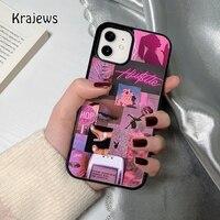 Krajews baddie coque Telefon Fall für iPhone 12 mini 5 6S 7 8 PLUS X XS XR 11 PRO MAX SE 2020 Zurück Abdeckung Funda Shell