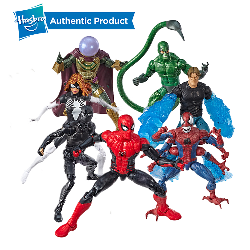 Hasbro Spider-man Marvel Legends Series Far From Home 6-Inch Spider Women Collectible Action Figure Collection For Girl And Boys