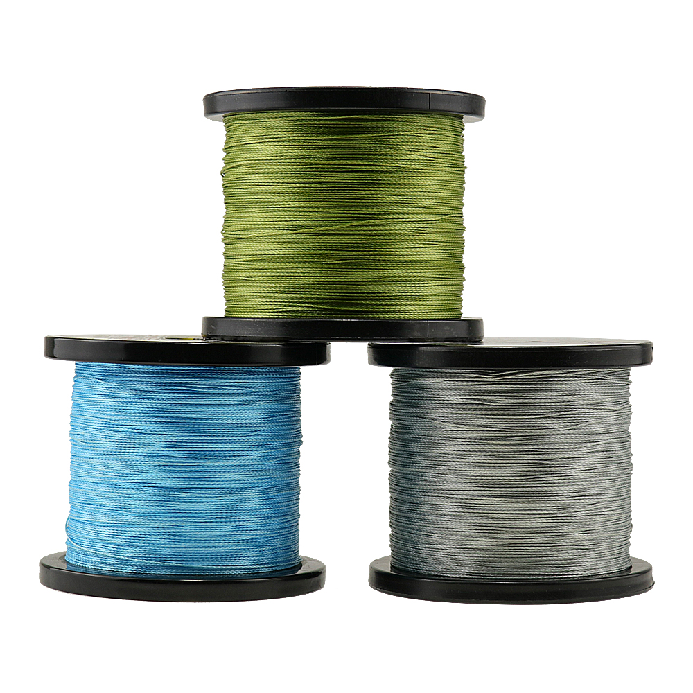2000M super long lines strong saltwater fishing Japan mulifilament PE Braided Fishing Line 4weaves braided fishing wires cords