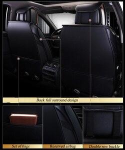 Image 5 - Kalaisike עור אוניברסלי רכב לgeely Emgrand EC7 X7 FE1 רכב סטיילינג פנים אוטומטי כרית