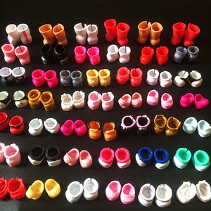 Free Shipping L.O.L. SURPRISE! Random 10 Pairs/lot Original Mini Doll Shoes Boots for LOL Sister Dolls DIY Kid Birthday Gift Toy(China)
