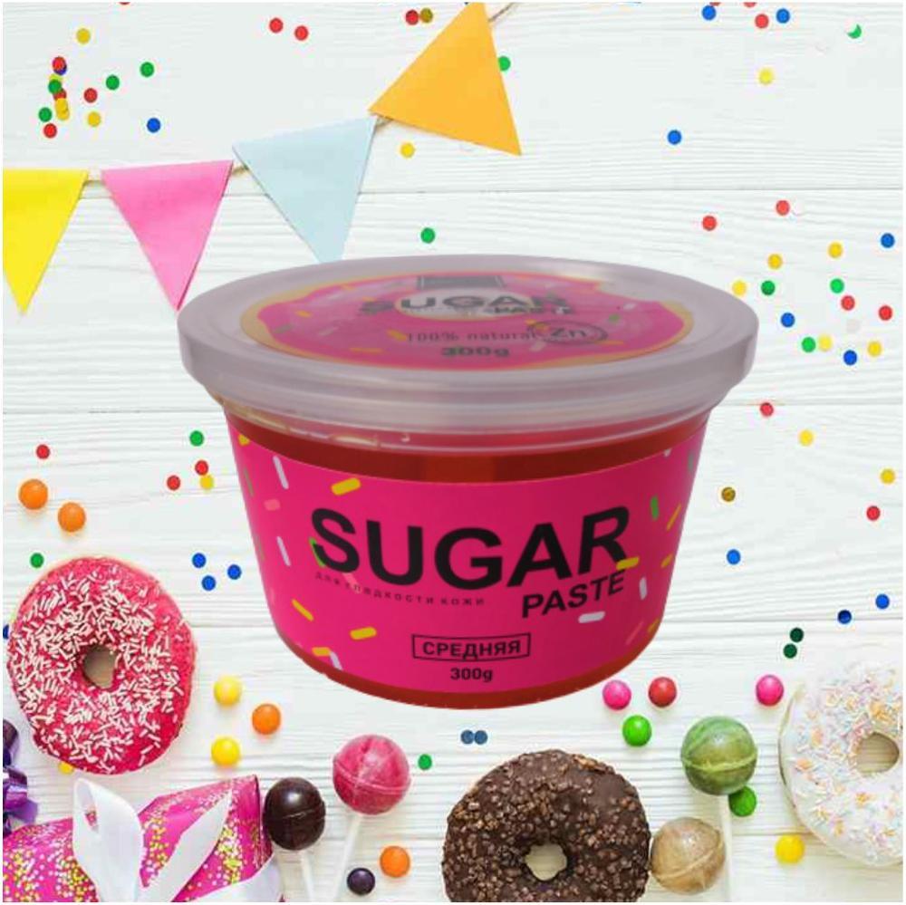 BIETTE Сахарная паста для шугаринга Средняя, 300 гр / Доказанная защита от воспалений и вросших волос