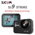 Original SJCAM Câmera Ação Supersmooth SJ9 Greve 4K GYRO/EIS sj9 Streaming Ao Vivo de Carregamento Sem Fio À Prova D' Água Esportes cam