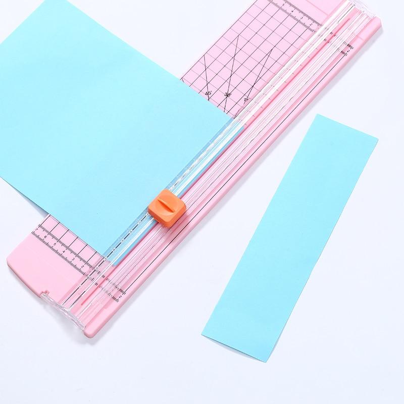Paper Cutter Cutting Mats A5 A4 Paper Photo Trimmer Portable Precision Cut Cutting Scrapbooking Label for Office School Kids