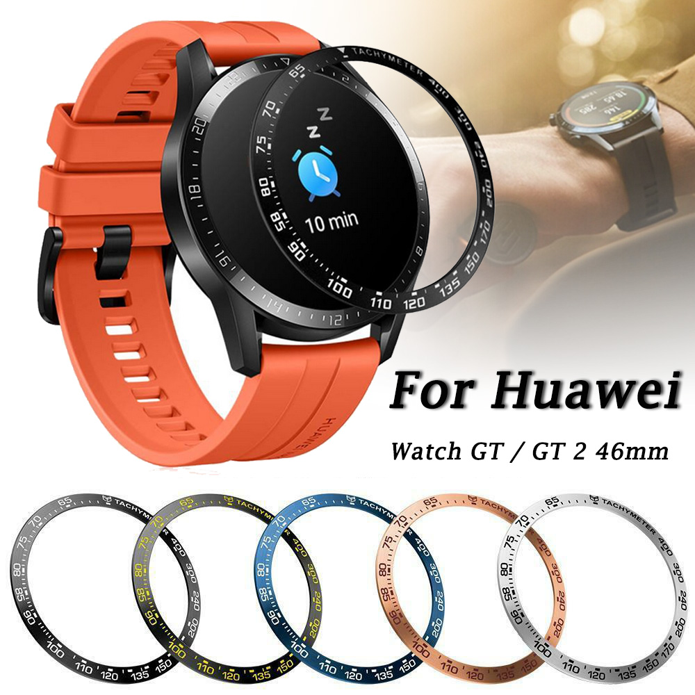 For Huawei Watch GT2 46mm GT 2 Bezel Ring Styling Frame Case Cover Protection For Galaxy Watch 46mm Stainless Steel Ringke #B