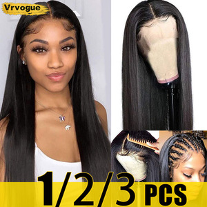 30 Inch Straight 4x4 Lace Closure Wig Human Hair Wigs On Sale Brazilian Lace Wigs For Women Sale Remy 150% Pre-Plucked Vrvogue