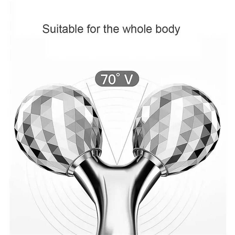 3D Roller Massager 360 Rotate Thin Face Full Body Shape Massager Lifting Wrinkle Remover Facial Massage Tool Y Shape Massager (1)