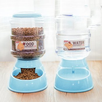 3.8L Pet Automatic Feeder dog cat Drinking Bowl for Dog Water Drinking cat Feeding Large capacity dispenser 2020 new pet automatic feeder dog cat drinking bowl for dog water drinking cat feeding large capacity dispenser pet cat dog