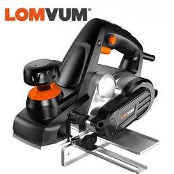 LOMVUM 750w plano eléctrico velocidad Variable herramienta de mano de corte de madera AC 220 V-240 V enchufe EU US
