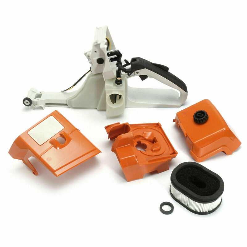 Fuel Tank Housing Overlay Top Air Filter Cover For STIHL Ms440 044 Chain Saw