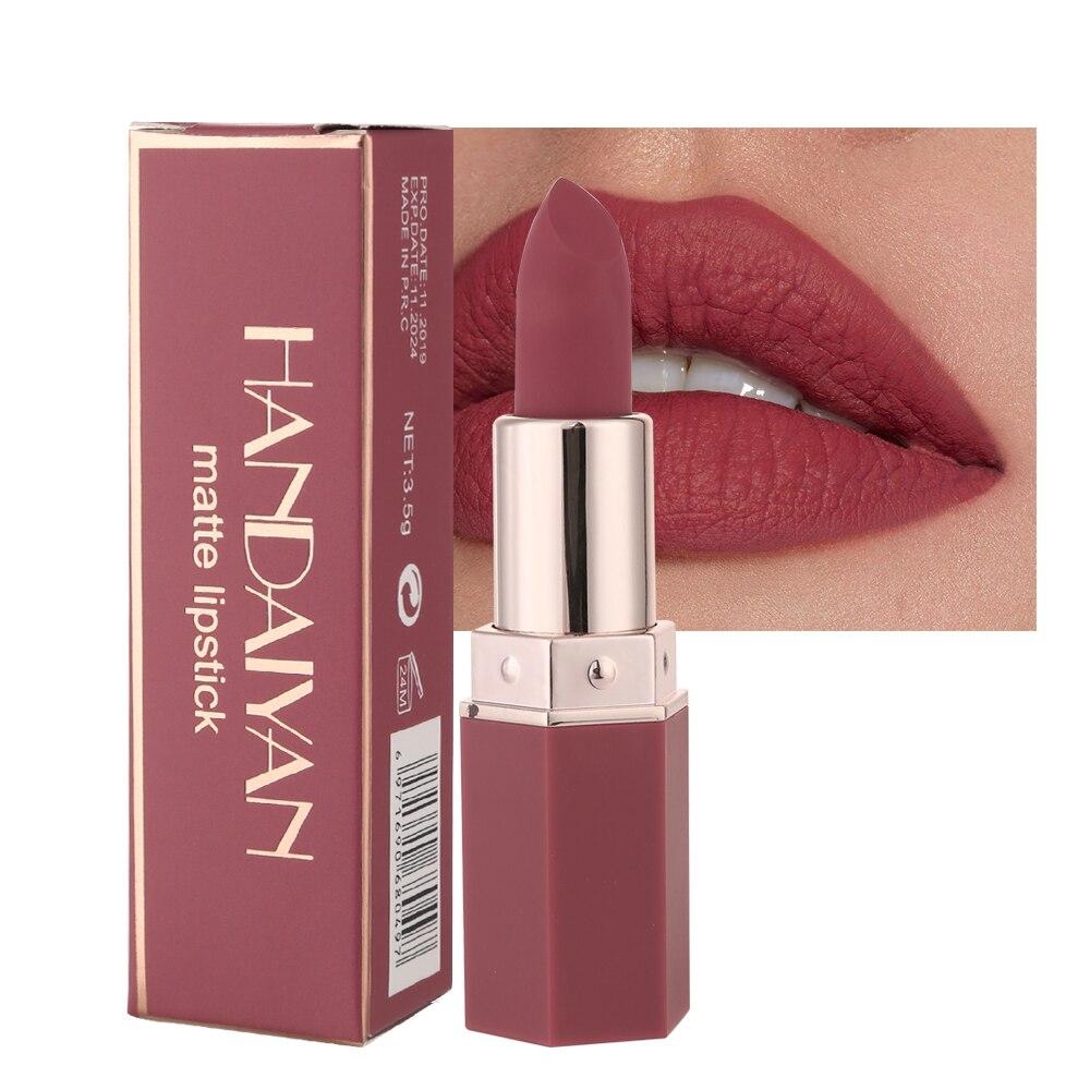 Makeup Lipstick Matte Lipsticks Waterproof Long Lasting Gloss Lips Sexy Makeup Matte Lipsticks Natural Rose Essence Lip Balm Set