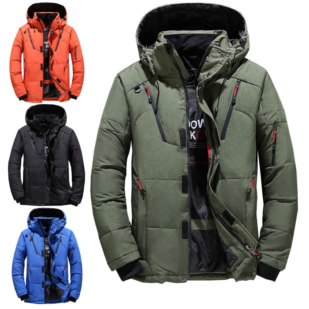 Ski Jacket Men Waterproof Fleece Snow Jacket Thermal Coat For Outdoor Mountain Skiing Snowboard Jacket Plus Size