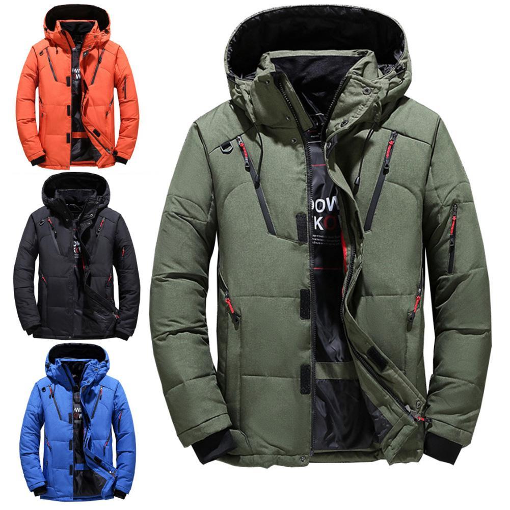 Ski Jacket Men Waterproof Fleece Snow Jacket Thermal Coat For Outdoor Mountain Skiing Snowboard Jacket Plus Size