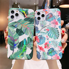 Flower Leaf Case For iPhone 11 Pro Max X
