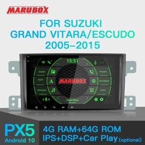 Image 1 - MARUBOX PX6 Phát Thanh Xe Hơi Android 10 Dành Cho Xe Suzuki Grand Vitara, escudo 2005 2016 Máy Nghe Nhạc Đa Phương Tiện GPS Âm Thanh Tự Động Stereo DSP
