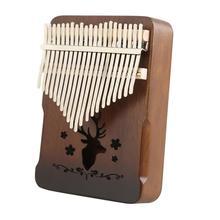 Thumb-Finger-Piano Kalimba-Instrument Sticker Tuning-Hammer Beginner Sanza-Mbira 21-Keys
