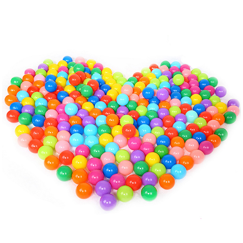 100 Pcs Colorful Fun Ball Soft Plastic Ocean Ball Baby Kid Toy Swim Pit Toy