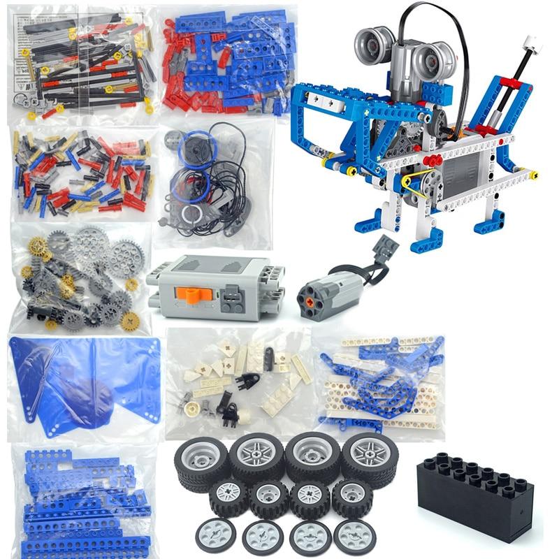 Технические детали, многотехнологичные детали MOC 9686, Обучающие школьники, Обучающие строительные блоки, набор функций питания для детей