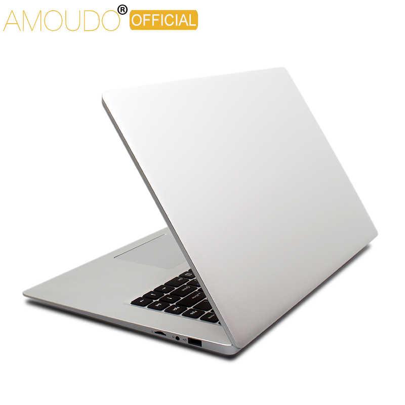 Amoudo 15,6 дюймов 1920*108P IPS экран Intel четырехъядерный процессор 4 ГБ ОЗУ 64 Гб ПЗУ Win10 ноутбук компьютер
