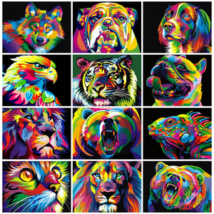 EverShine 5D Diamond Painting Full Square Animals Cross Stitch Diamond Embroidery Cat Rhinestones Art Gift Decoration For Home