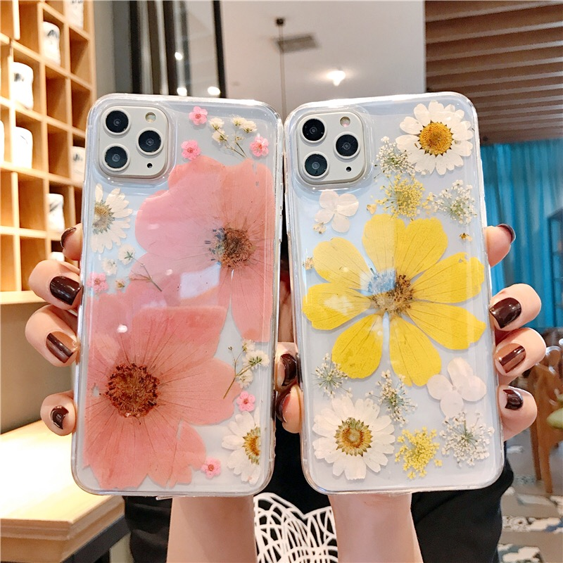 Natural Beauty Handcraft Original Sunflower Cases For Iphone 11 Pro Max